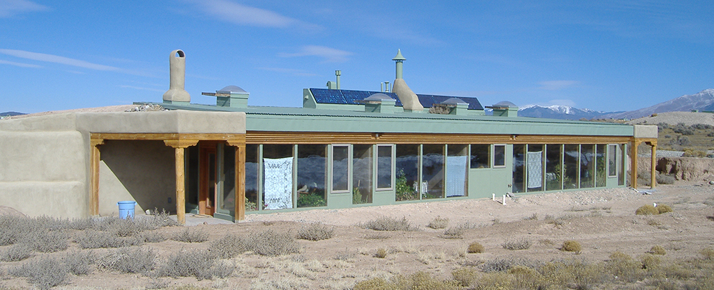 California Packaged Earthship School