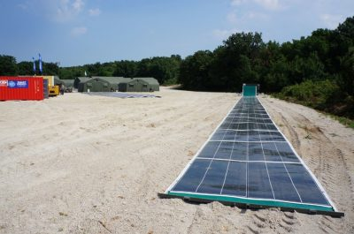 Solar energy rolls out like a carpet with groundbreaking Roll-Array photovoltaics