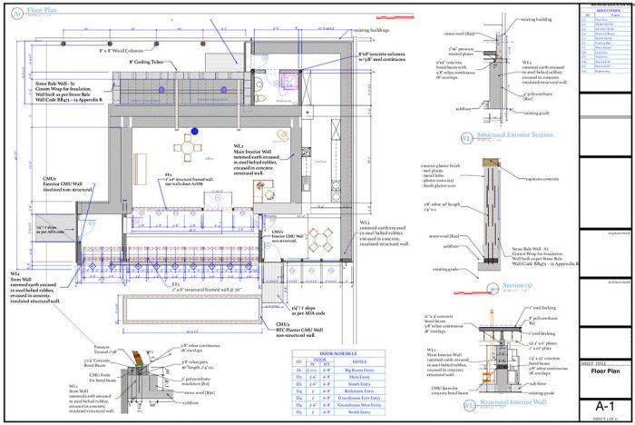 global-model-1bed-construction-drawings-floorplan