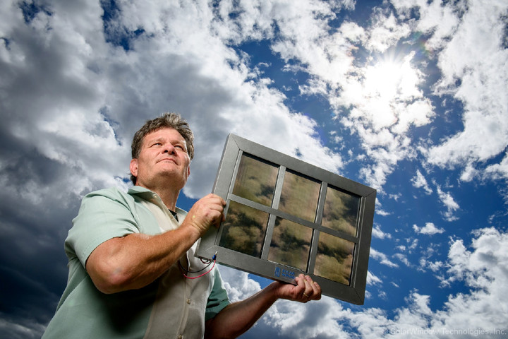 Windows that can generate electricity