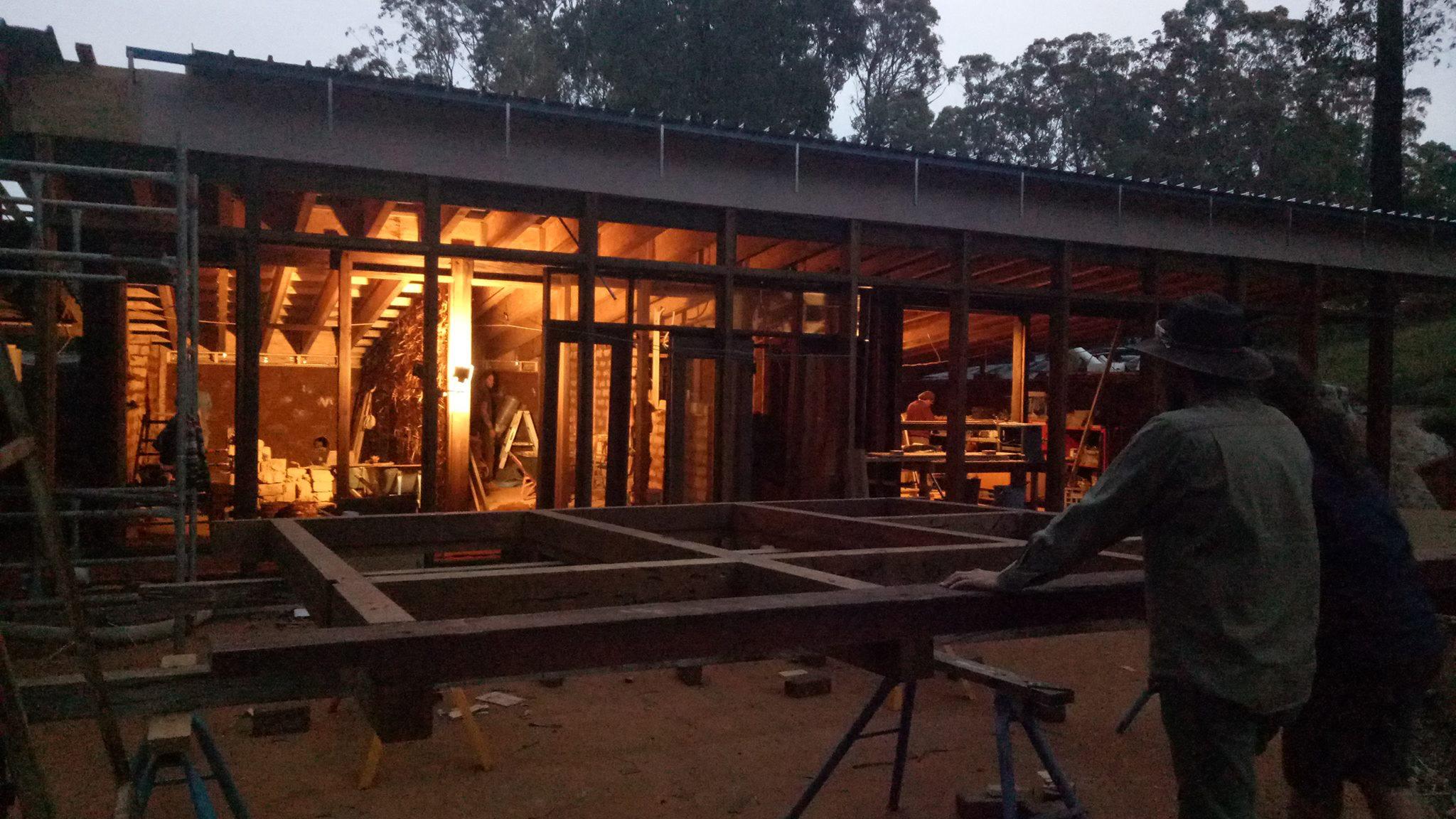 kinglake-australia-earthship-construction