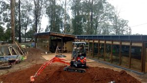 kinglake australia earthship construction