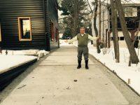 Who Needs A Shovel? Paramus Family Melts Snowfall Away