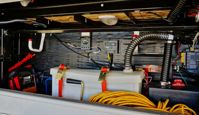RV Off-grid Power System