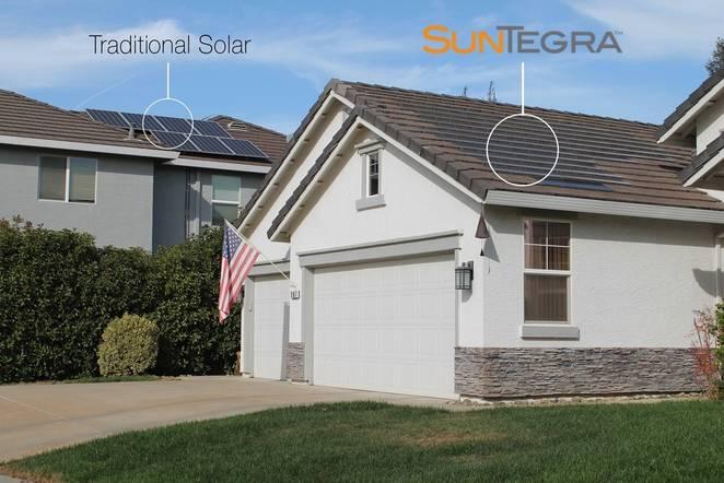 Solar roof Solar shingles and tiles