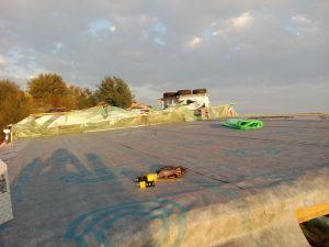vapor barrier earthship