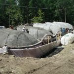 vaulted earthship overview